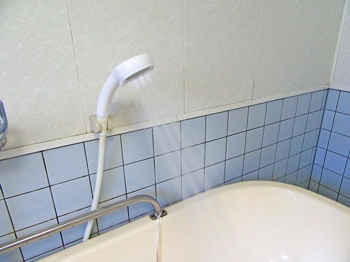 三栄水栓のシャワーの広がり