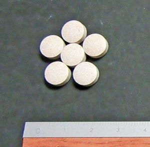 ネムリス錠剤の大きさ