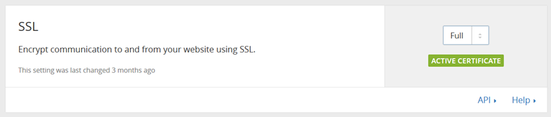 SSL設定項目をフルに