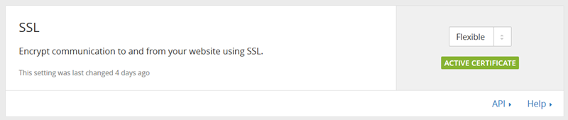 SSLをフレキシブルに