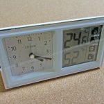 温度計・湿度計・アナログ時計がオールインワンなシチズンの目覚まし時計「ライフナビ」を購入