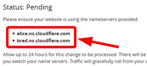 書き換え用のネームサーバー