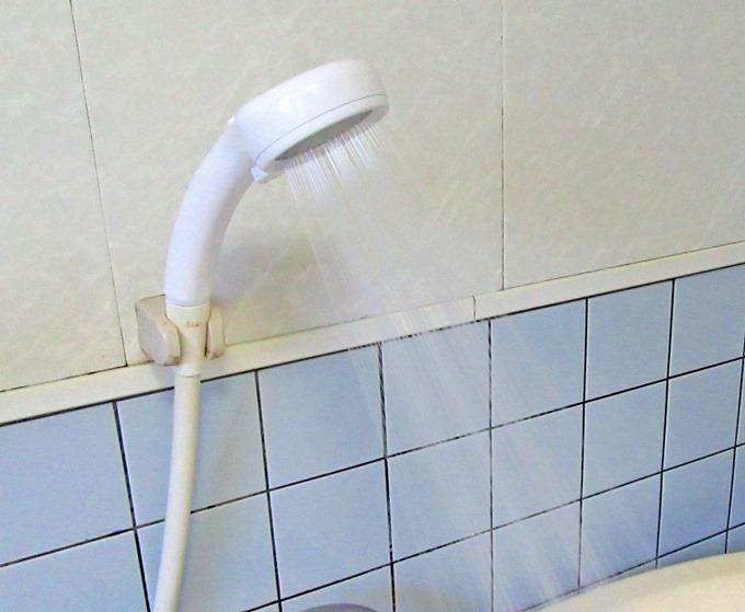 三栄水栓レイニーのシャワーの出かた
