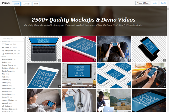 Free iPhone Mockup Generator & App Demo Videos by Placeit