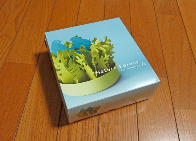 ミクニ Nature Forest(ネイチャーフォレスト) とり×グリーン 自然気化式 エコ加湿 U650-01 日本製 電気を使わないエコ加湿