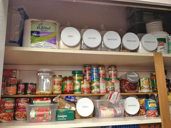 家庭の食料貯蔵室