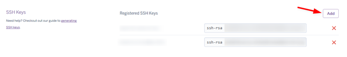 HerokuでSSH鍵を登録
