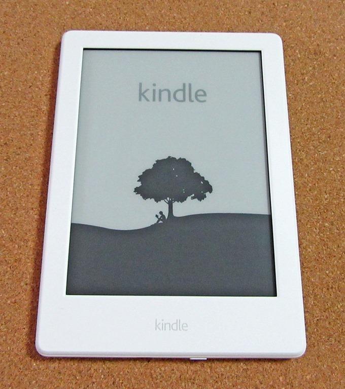 Kindle端末の起動画面
