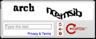 古いreCAPTCHA