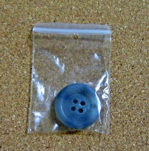 ジェラピケ ラインカーディガンの交換用ボタン