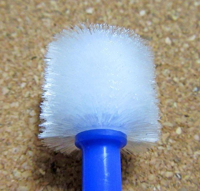 360度歯ブラシの毛先