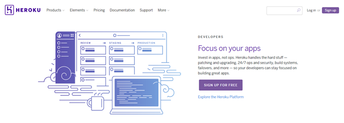 Cloud Application Platform Heroku