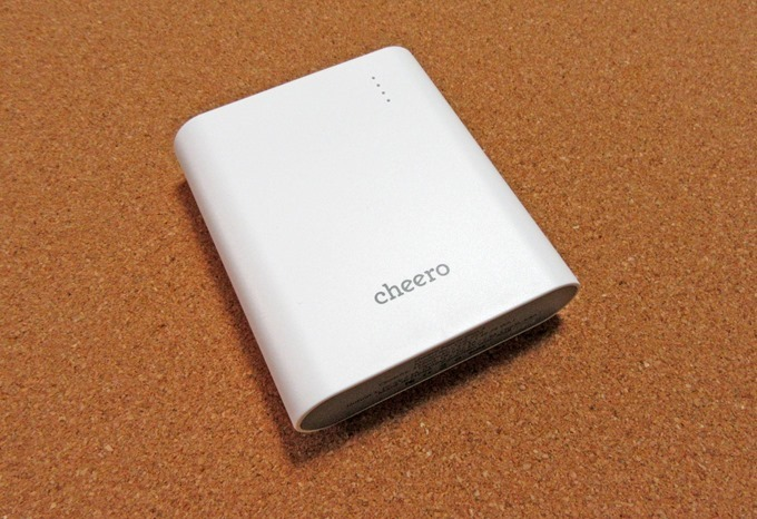 cheero Power Plus 3 大容量モバイルバッテリー