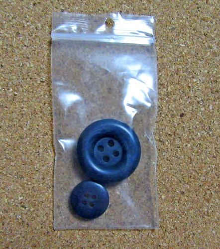 ジェラピケ クリスマス限定ショールカーデの交換用ボタン