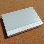 最高に簡単に使える外付けHDD「I-O DATA ポータブルHDD」は増設が本当に楽