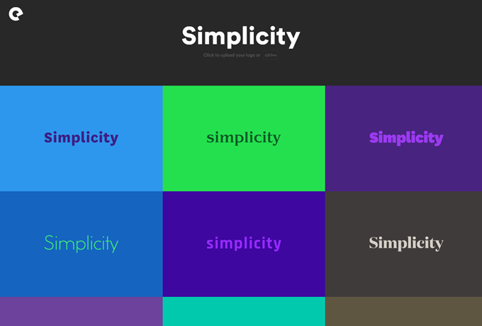 Simplicityロゴの提案