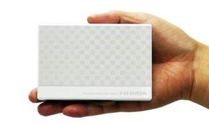 手のひらにもすっぽりと収まるポータブルハードディスク