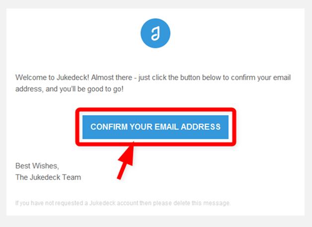 Jetpackのメールアドレスの確認