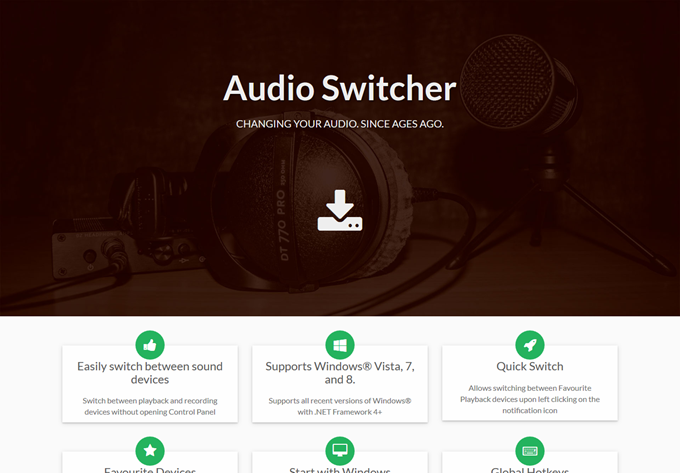 Home Audio Switcher