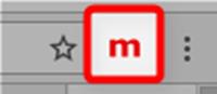 モバイルエミュレーターのツールボタン