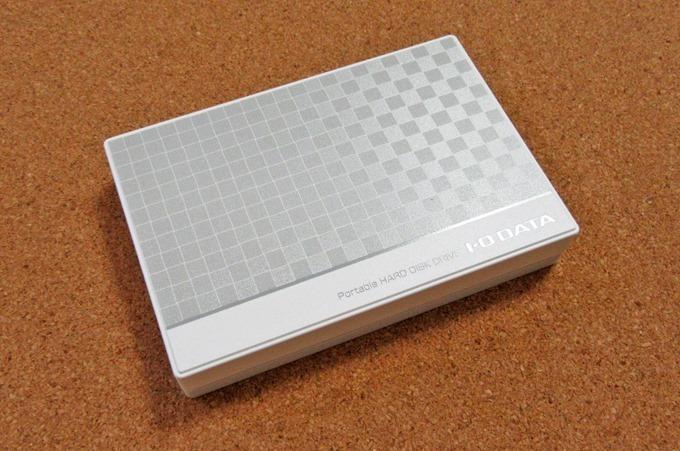 IO-DATAポータブルHDDの大きさ
