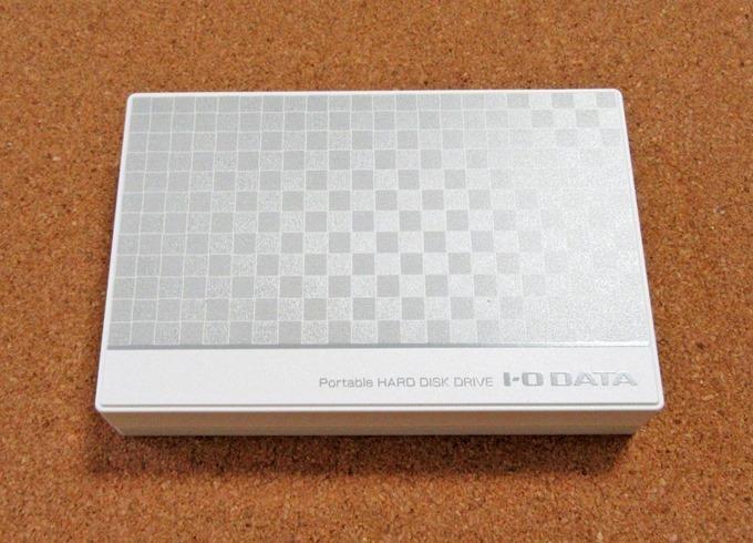 IO-DATAポータブルHDD本体