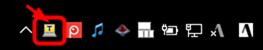 タスクバーに表示されるTeraTermメニューを右クリック