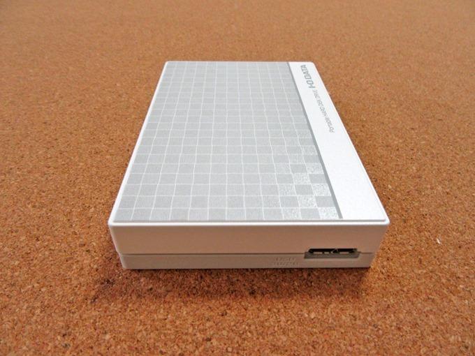 ポータブルハードディスクを増設
