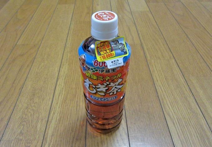 天然ミネラル麦茶ペットボトル