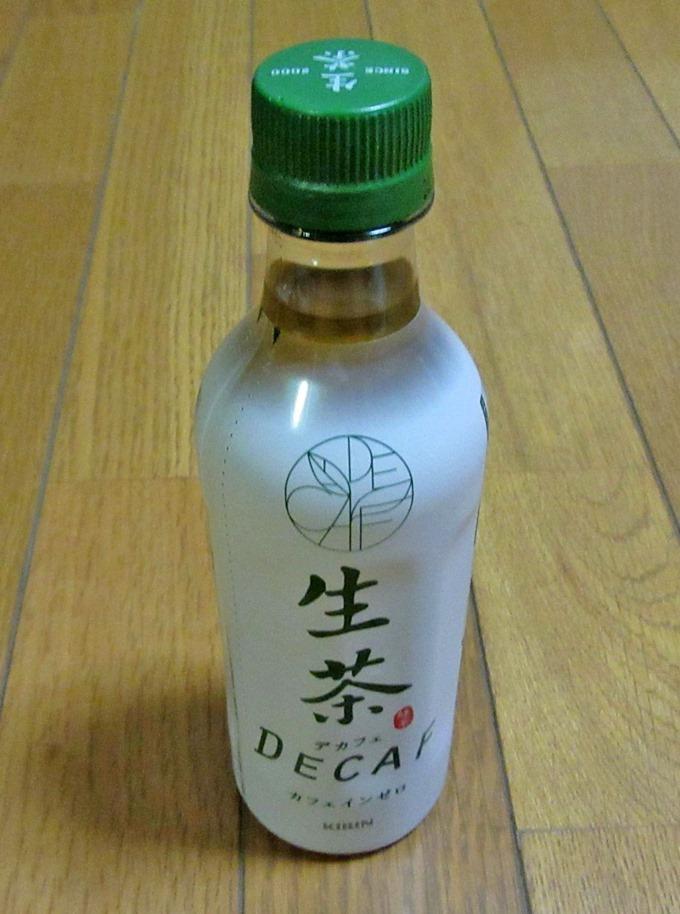 キリン生茶デカフェのペットボトルパッケージ