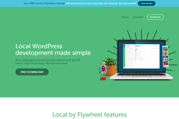 Local by Flywheel Local WordPress development made simple