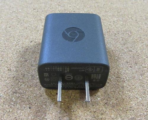 ChromecastのACアダプター