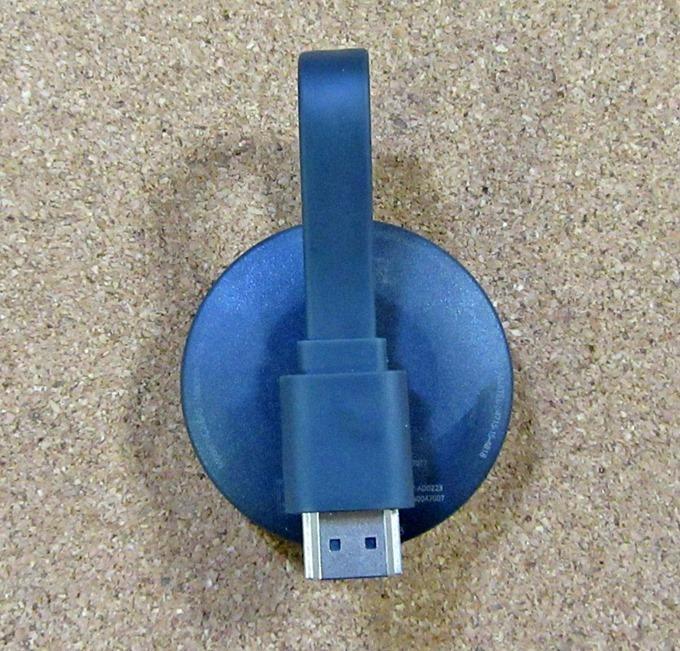 Chromecast本体裏面(HDMI端子)