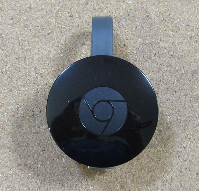 Chromecast本体の表面