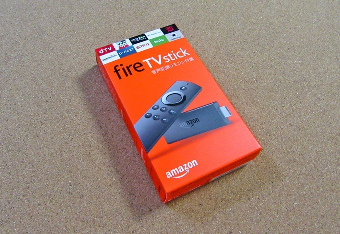Fire TV Stickの箱