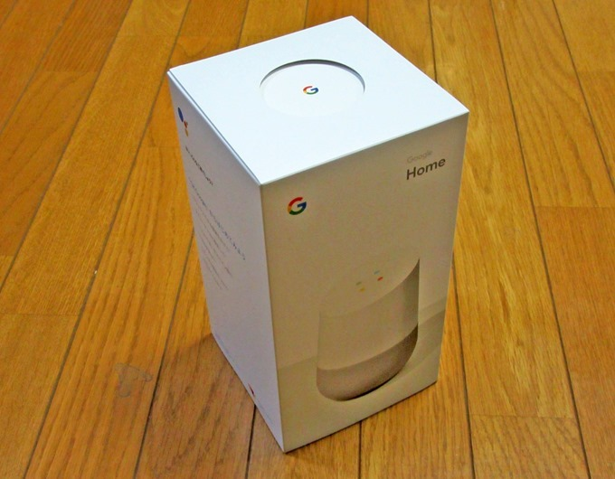 Google Homeの箱