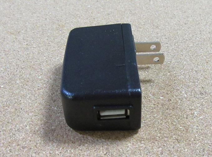 USBケーブルの差込口(LM700)