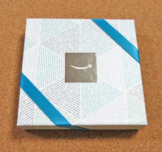 Amazonギフト券ボックス(クールブルー)