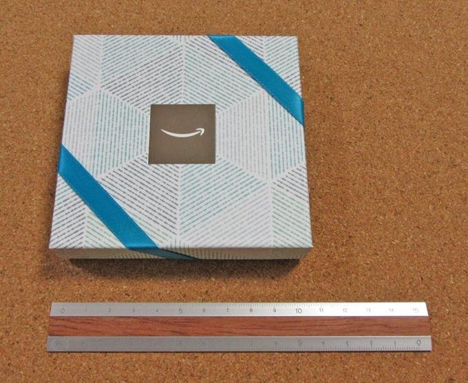 クールブルーデザインのサイズ計測