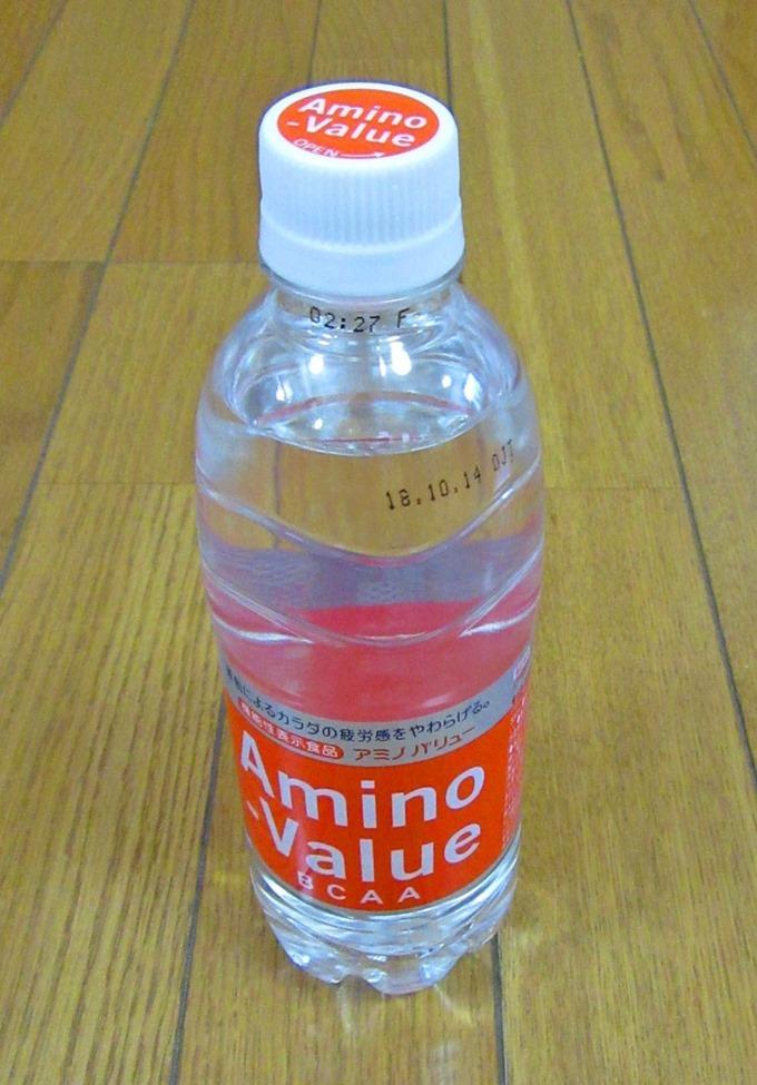 アミノバリューの500mlペットボトル単体