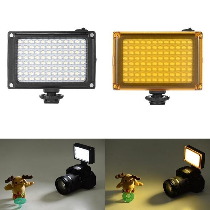 照明用フィルターは、無色とオレンジの2種類