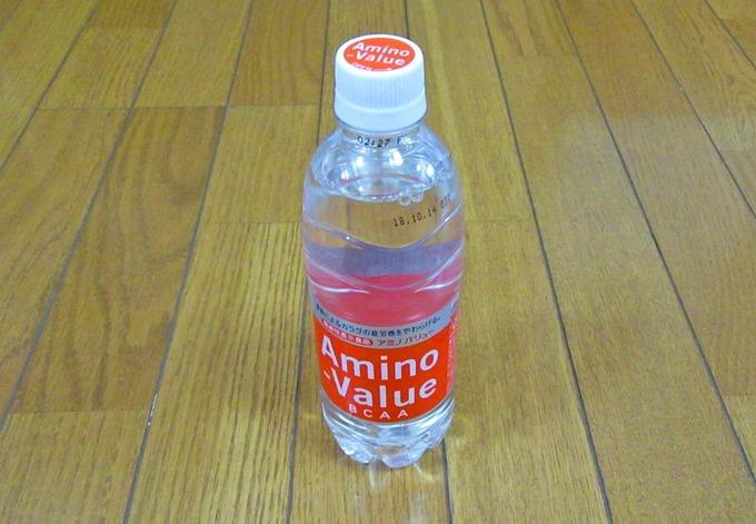 アミノバリューの500mlペットボトル