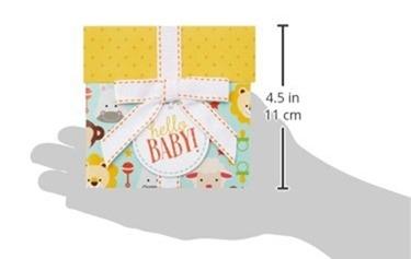 Amazonギフト券(封筒タイプ)ベイビーのサイズ
