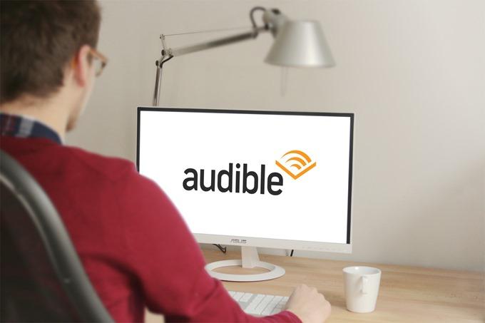 Audibleをパソコンで聴く