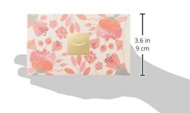 フラワー封筒ギフト券のサイズ