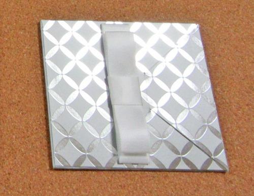 唯一の光り物封筒タイプのグレー七宝