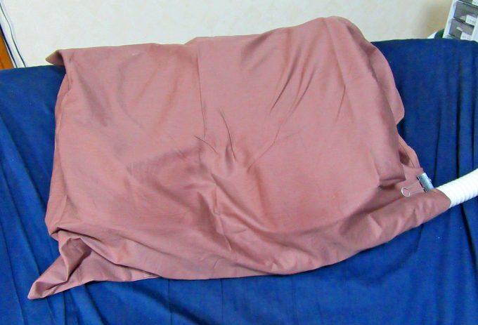 首が痒くならない枕完成形