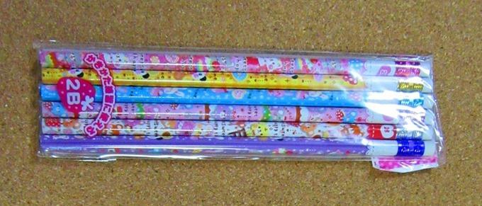 消しゴム付き鉛筆