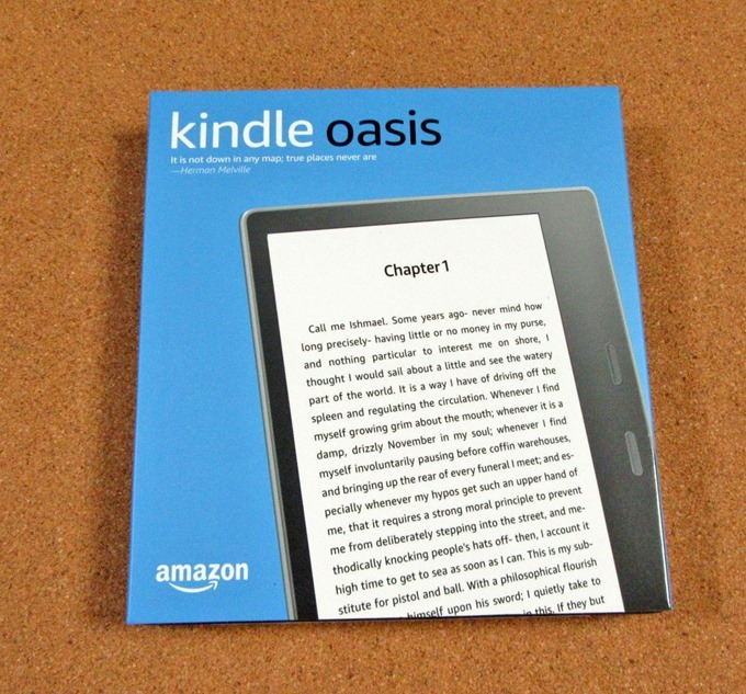 Kindle Oasisの箱
