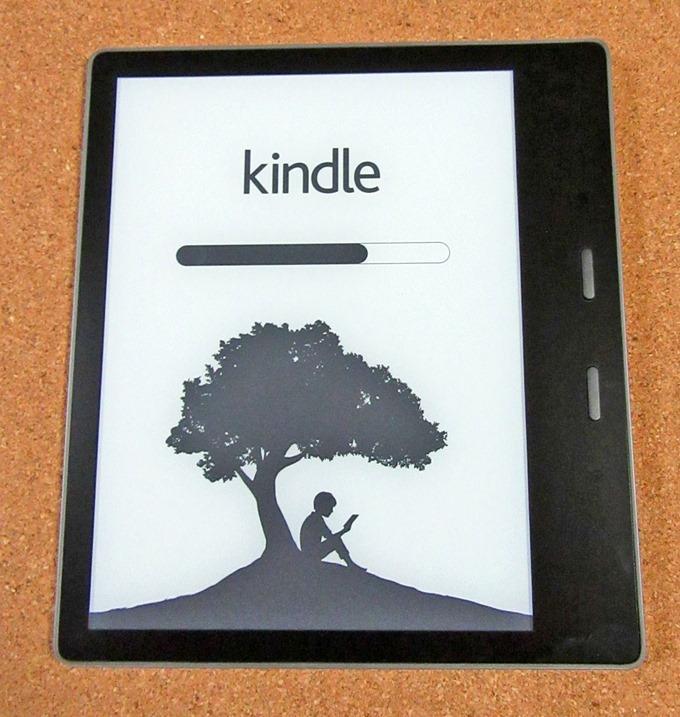 Kindle Oasisの起動